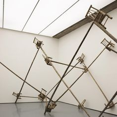 Installation created through a collaboration between Chinese artist Ai Weiwei and Swiss architects Herzog & de Meuron Albion Gallery in London.