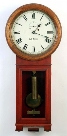 : Seth Thomas Regulator No. 2 Walk Clock :