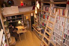 Interior View - Bookshop by La Maison Qui Chemine