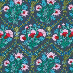 VOILE Amy Butler Josephine's Boutique in Ink One by ModernQuilter, $9.50