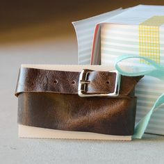 Leather wrap bracelet tutorial. I vow I will no longer avoid working with buckles.