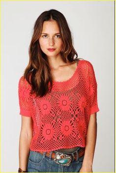 Marisabel+crochet:+Suéter