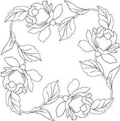 Quilters Flower 45 Larger (HDFQ45C) Embroidery Design by Anita Goodesign:
