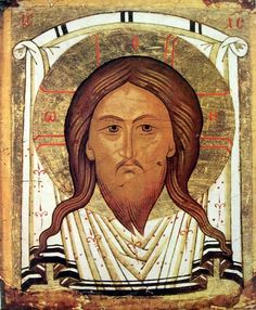 Models for icons. Medieval icons of Mandylion|