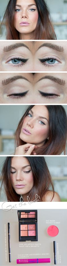 Todays look – My everyday look | #soft #winged #getthelook