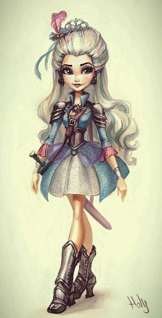 ♥ Monster High ♥ Ever After High ♥ : Photo Ever After High, Arte Monster High, Monster High Dolls, Raven Queen, Doll Repaint, Winx Club, Cartoon Art, Fairy Tales, Character Design
