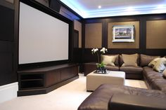 Snooker room plus home theatre Home Theater Basement, Cinema Room, Handmade Kitchens, Entertainment Room, Man Cave, Panelling, Basements, Piano, Theatre