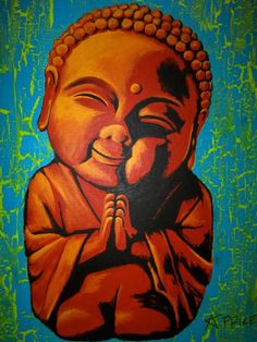 baby buddha painting..cant wait to add this to my arm :)