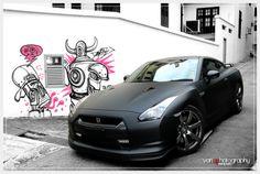 Japanese Speed - Adrian Wong photographs matte-black Nissan GT-R - :coolpics: Nissan Gt R, Nissan 370z, Nissan Skyline R35, Skyline Gtr, Nissan Auto, Aston Martin, Lamborghini, Benz, Gtr R35