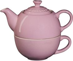 Le Creuset Stoneware Tea Cup for 1 Pink *** You can find out more details at the link of the image.Note:It is affiliate link to Amazon.