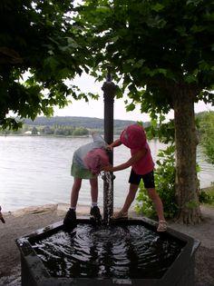 Inselspielplatz Mainau Duitsland augustus 2006