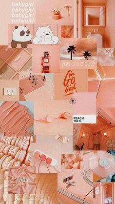 Ideas Aesthetic Wallpaper Pastel Peach For 2019 Wallpaper Pastel, Iphone Wallpaper Vsco, Lock Screen Wallpaper Iphone, Mood Wallpaper, Iphone Background Wallpaper, Aesthetic Pastel Wallpaper, Retro Wallpaper, Locked Wallpaper, Trendy Wallpaper