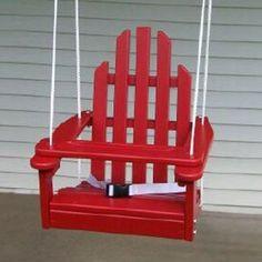 Prairie Leisure Kiddie Hanging Outside Child Swing Chair - 64