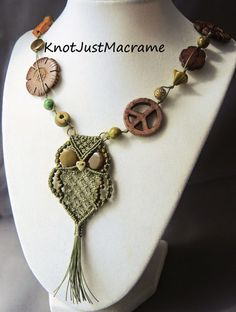How to Make an Easy Knotted Necklace