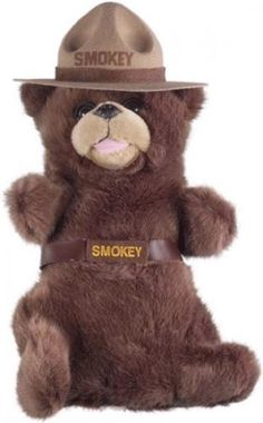 Smokey The Bear Headcover By Winning Edge Designs. Buy it @ ReadyGolf.com