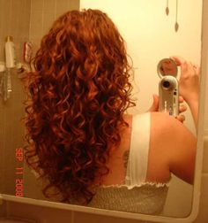 I like the long curls that are a bit shaped.