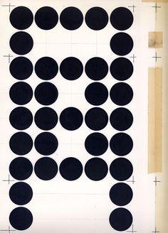 Basisvorm [ontwerp] Wim Crouwel  Dutch Graphic Designers Archive