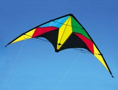 The Brookite Phantom Kite is a sports kite from the range manufactured by Brookite.  A budget price - but this is a great kite for learning the art of Sport Kite flying plus its new for 2007.    Specification:  Size: 117x66cms  Material: Spinnaker  Frame: Fibreglass  Assembly time: 1 Minute  Twine Strength: 20 Kg  Age: 10 +  Wind Range: 6-20 mph