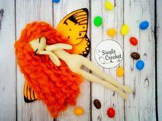 Single Crochet - каркасные куколки Л. Стешовой