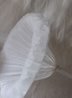 02corolle1 Remarkable Tissue Paper Sculptures by Maryse Dugois.