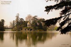 Lac Daumesnil in le Bois de Vincennes. paris