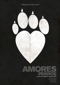 Amores Perros in Minimalist Movie Posters. Part 2