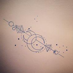 N.2 - STILE DISEGNO PRINCIPALE ALL'INTERNO DELLA FASCIA. Costellazioni e simboli di geometria sacra
