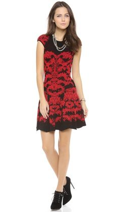 RVN Flame Lace Skater Dress at Shopbop. I just love lace.