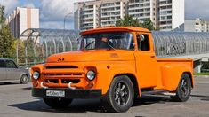 Russian style.  Self-made custom using cab of old russian truck ZIL-130.