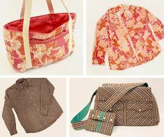 sac chemise Recycler une chemise pour en faire un sac