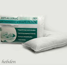 V Shaped Pillow Extra Fill Body Support