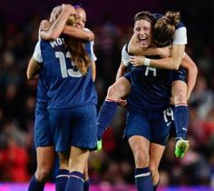 One of the best games ever-congrats, girls! Olympics 2012: U.S. defeats Canada in extra time, advances to gold medal match - London Olympics 2012 - Sporting News