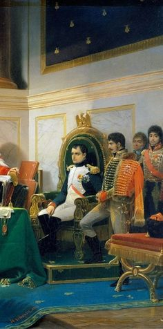 Henri-Fréderic Schopin: The Divorce of the Empress Josephine. And details. 1843.