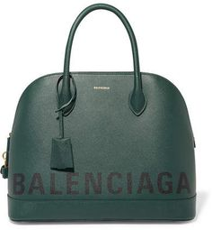 c987c1eaba Dark-green and black textured-leather (Calf) Zip fastening along top and  sides Designer color  Malachite Green Weighs approximately Made in Italy
