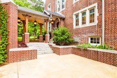 Custom home design by Architect Josh Cooper of JCC Design Studios in Chattanooga, Tennessee Custom Home Designs, Custom Homes, Breezeway, Design Studios, Tennessee, House Design, Patio, Decorating, Outdoor Decor