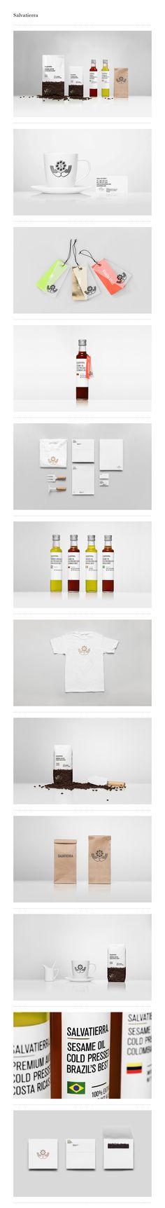 Salvatierra / Anagrama. #packaging #branding #marketing. PD