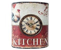 fc08cc7beed Relógio de mesa rural kitchen Relógio De Mesa