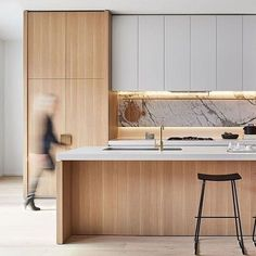 ✔️ 33 Modern Kitchen Remodel Ideas That Look Fun Things You Need To Know About The Basics Of Modern Kitchen Design And Remodeling 12 Modern Kitchen Design, Interior Design Kitchen, Modern Interior Design, Minimal Kitchen, Kitchen Designs, Home Interior, Interior Decorating, Interior Work, Coastal Interior