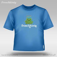 Der stürmische Froschkönig Kids Fashion, Crop Tops, Mens Tops, T Shirt, Clouds, Kids, Supreme T Shirt, Tee Shirt, Junior Fashion