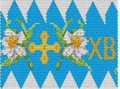 Схемы обвязанных яиц-2 — Бисерный Дайджест Seed Bead Flowers, Beaded Flowers, Seed Beads, Cross Stitch Rose, Cross Stitch Flowers, Cross Stitch Patterns, Beaded Ornaments, Beaded Embroidery, Beading Patterns