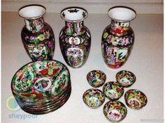 فروش-چینی-گل-مرغی 3 گلدان 16 سانتی هر کدام 60000 تومان 1 دست نعلبکی 100000 تومان 1 دست پیاله تزئینی مناسب برای هفت سین 70000 تومان به طور جداگانه هم به فروش میرسند