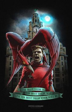 Stevie G and Liverbird