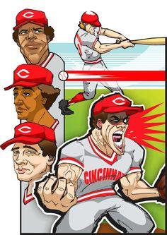 1982 Cincinnati Reds by Jamie Rockwell