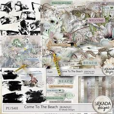 DD: Save 70% off ONLY TODAY ! Digital Art :: Bundled Deals :: Come To The Beach - Bundle