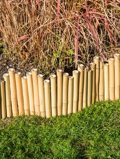 This amazing split rail fence most certainly is an inspiring and wonderful idea Bamboo Garden Fences, Bamboo Trellis, Bamboo Poles, Bamboo Garden Ideas, Bamboo Ideas, Bamboo Privacy Fence, Rope Fence, Bamboo Mirror, Bamboo Wall