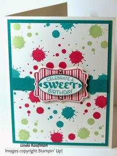 Linda K's Stampin' Page: DOstamperSTARS Thursday Challenge 129 Flamingo Lingo and Cycle Celebration
