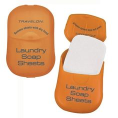 My Travel Packing List: Travelon Laundry Soap Sheets