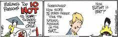 """The """"Dangers"""" of Homeschooling– Mallard's top10 reasons NOT to Home-school your children #1"""