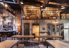 Houston Hall is a beer hall located in New York City's West Willage.