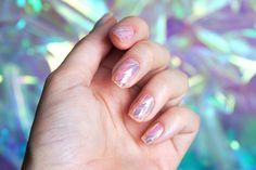 Unhas de Vidro (Shattered Glass Nails)